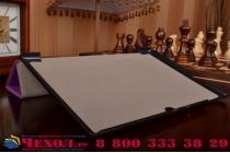 """Фирменный умный чехол-книжка самый тонкий в мире для Acer Iconia Tab A3-A30/A31 """"Il Sottile"""" фиолетовый кожаный"""