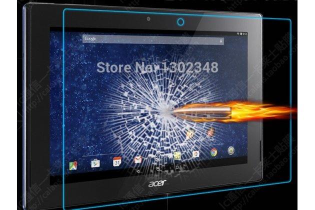 Фирменное защитное закалённое противоударное стекло премиум-класса из качественного японского материала с олеофобным покрытием для Acer Iconia Tab A3-A30/A31