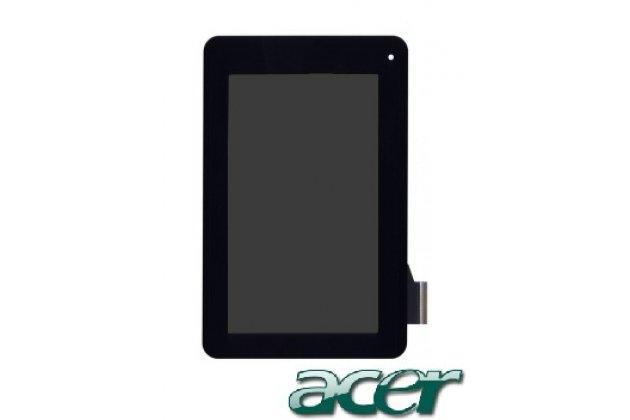 Фирменный LCD-ЖК-сенсорный дисплей-экран-стекло с тачскрином на планшет Acer Iconia Tab B1-710/B1-711 черный и инструменты для вскрытия + гарантия
