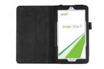 "Чехол для Acer Iconia One 7 B1-770 (K75V / NT.LBKEE.002 / K057) 7.0"" черный кожаный"