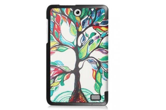 """Фирменный уникальный необычный чехол для Acer Iconia One 8 B1-850-K0GL (NT.LC4EE.002) 8.0 """"тематика книга Сказочное Дерево"""""""