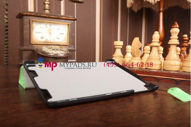 """Фирменный умный чехол самый тонкий в мире для Acer Iconia Tab A1-830/A1-831 """"Il Sottile зеленый пластиковый Италия"""