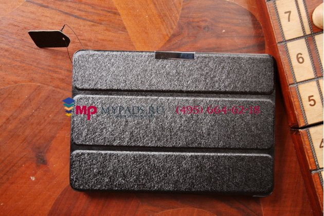 """Фирменный умный чехол самый тонкий в мире для Acer Iconia Tab A1-830/A1-831 """"Il Sottile черный пластиковый Италия"""
