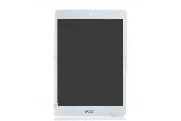 Фирменный LCD-ЖК-сенсорный дисплей-экран-стекло с тачскрином на планшет Acer Iconia Tab A1-830/A1-831 белый и инструменты для вскрытия + гарантия