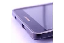 """Фирменная ультра-тонкая силиконовая задняя панель-чехол-накладка для Acer Iconia Talk S (A1-734)"""" серая"""