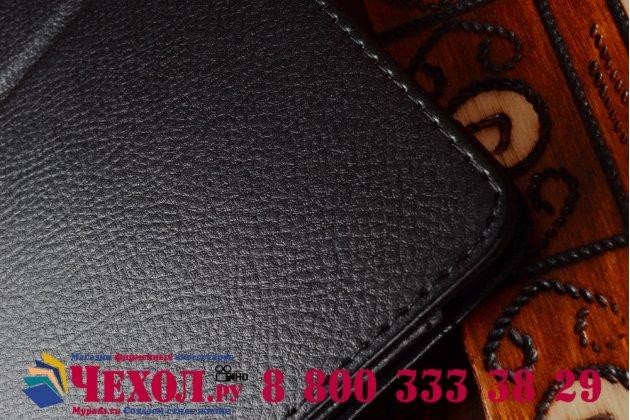 Фирменный чехол обложка с подставкой для Acer Aspire Switch 10 (SW5-011) черный кожаный