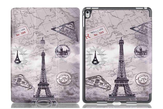 """Фирменный необычный чехол для  iPad Pro 9.7"""" """"тематика Париж"""""""