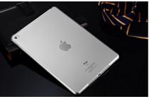 Фирменная ультра-тонкая полимерная из мягкого качественного силикона задняя панель-чехол-накладка для iPad mini 4 белая