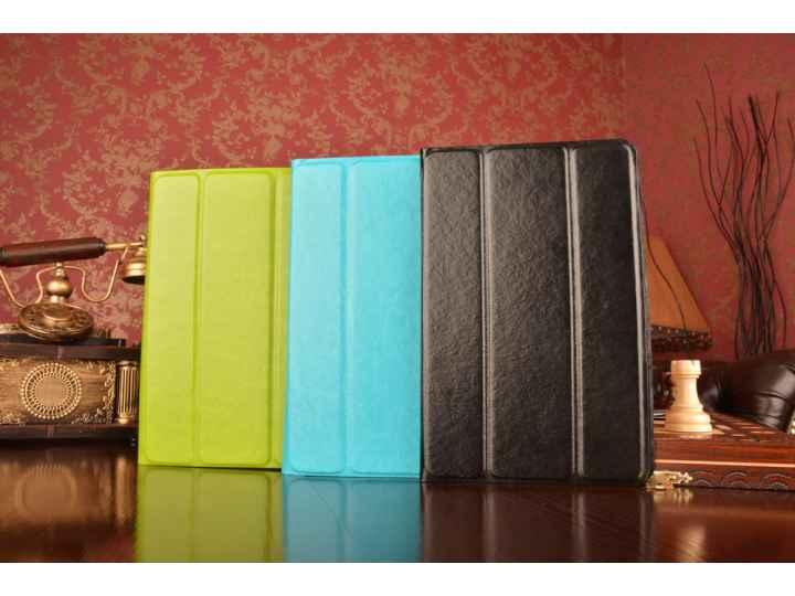 Чехол с вырезом под камеру для планшета Sony Tablet S 1 с дизайном Smart Cover ультратонкий и лёгкий. цвет в а..
