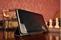 Чехол с вырезом под камеру для планшета Acer Iconia Talk S (A1-734) с дизайном Smart Cover ультратонкий и лёгкий. цвет в ассортименте