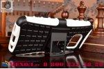 """Противоударный усиленный ударопрочный фирменный чехол-бампер-пенал для Samsung Galaxy S7 G930 / G9300 5.1""""  белый"""
