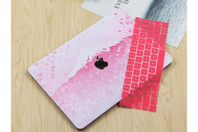 Фирменный ультра-тонкий пластиковый чехол-футляр-кейс для Apple MacBook Air 11 Early 2015 (MJVM2/ MJVP2) 11.6 / Apple MacBook Air 11 Early 2014 ( MD711 / MD712) 11.6 в комплекте с накладкой для клавиш ноутбука