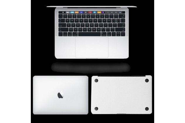 Фирменная оригинальная защитная пленка-наклейка на твёрдой основе, которая не увеличивает ноутбук в размерах для Apple MacBook 12 Early 2015 / 2016 / Mid 2017 ( A1534 / A1527)