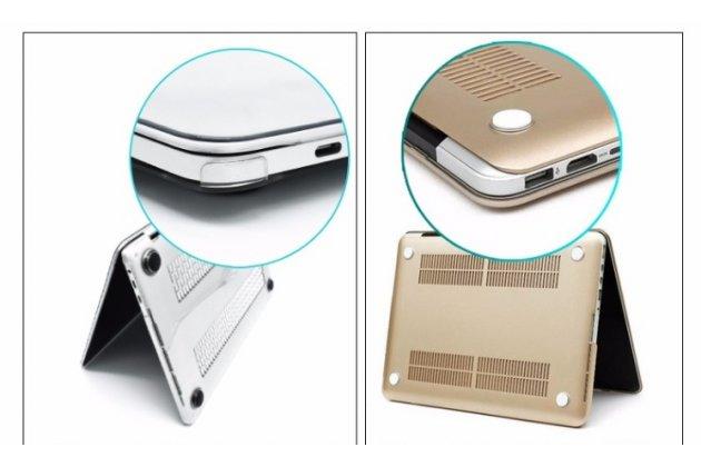 Фирменный ультра-тонкий пластиковый чехол-футляр-кейс для Apple MacBook 12 Early 2015 / 2016 / Mid 2017 ( A1534 / A1527)