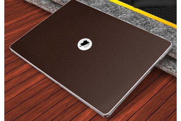 Фирменный ультра-тонкий чехол-футляр-кейс  из прочного пластика для Apple MacBook 12 Early 2015 / 2016 / Mid 2017 ( A1534 / A1527) с дизайном под кожу