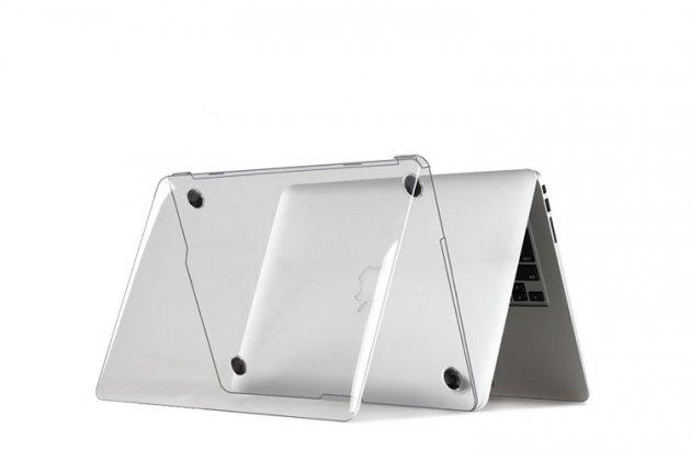 Фирменный ультра-тонкий силиконовый чехол-футляр-кейс для Apple MacBook 12 Early 2015 / 2016 / Mid 2017 ( A1534 / A1527). Цвет в ассортименте.