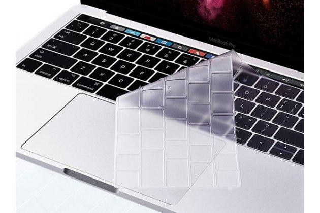 Защитная ультра-тонкая накладка для клавиш ноутбука Apple MacBook 12 Early 2015 / 2016 / Mid 2017 ( A1534 / A1527) прозрачная