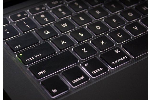 Защитная ультра-тонкая накладка для клавиш ноутбука Apple MacBook Air 11 Early 2015 (MJVM2/ MJVP2) 11.6 / Apple MacBook Air 11 Early 2014 ( MD711 / MD712) 11.6 прозрачная