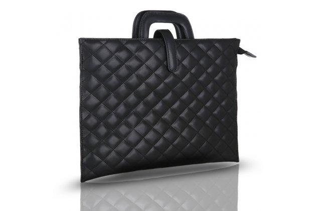 Фирменный оригинальный чехол-клатч-сумка для Apple MacBook Air 11 Early 2015 (MJVM2/ MJVP2) 11.6 / Apple MacBook Air 11 Early 2014 ( MD711 / MD712) 11.6 из качественной стеганной кожи