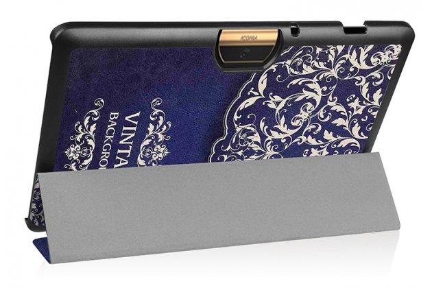 Фирменный эксклюзивный необычный чехол-футляр для Acer Iconia One 10 B3-A30 тематика Книга в винтажном стиле
