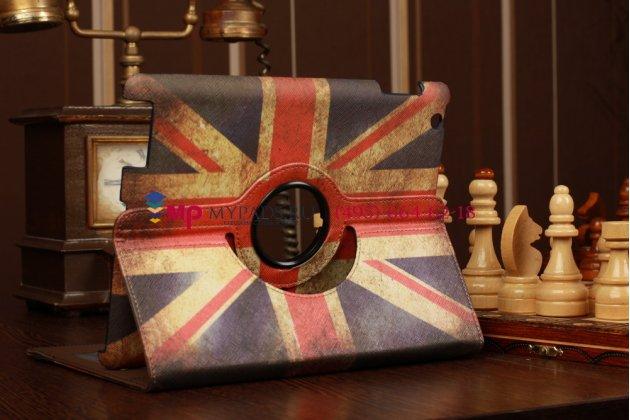 """Фирменный чехол для Apple iPad 2/3/4 """"тематика ретро Британский флаг"""""""